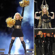 Recreate Madonna's Super Bowl Style