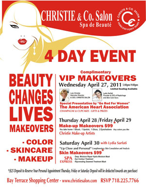 Beauty Changes Lives at Christie & Co. Salon