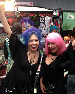 Manic Panic: Meet Founders Snooky and Tish