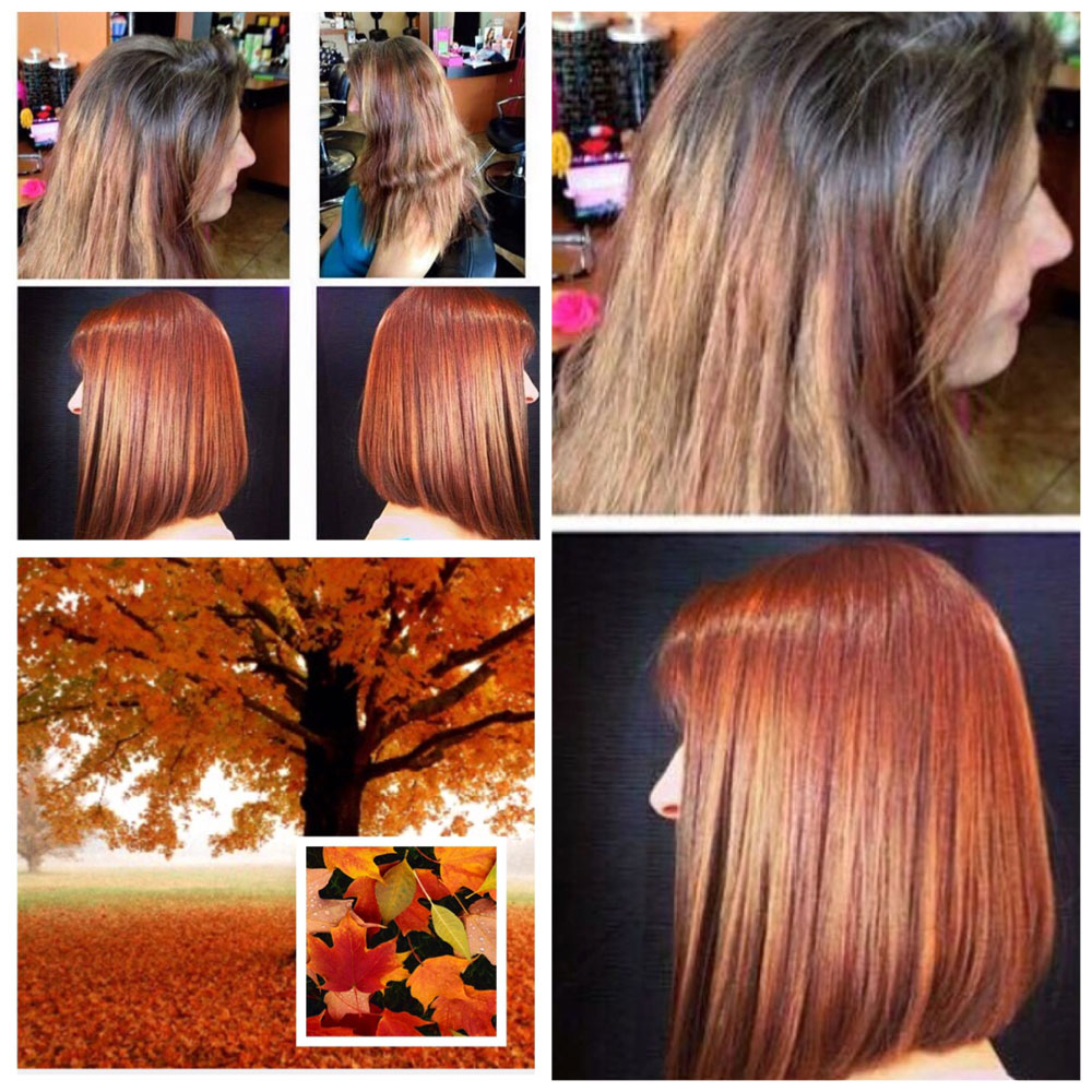 HOW-TO: From Grown-Out and Messy to Dimensional Copper Lob - Hair ...