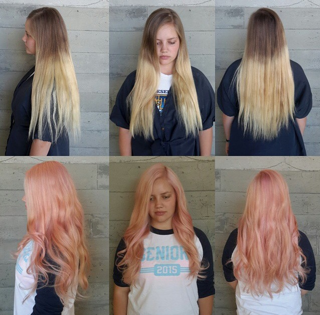 How To Just Rosey Going Pink On A Severe Ombre