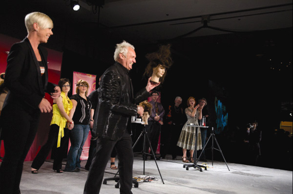 Matrix holds education, mannequin competition