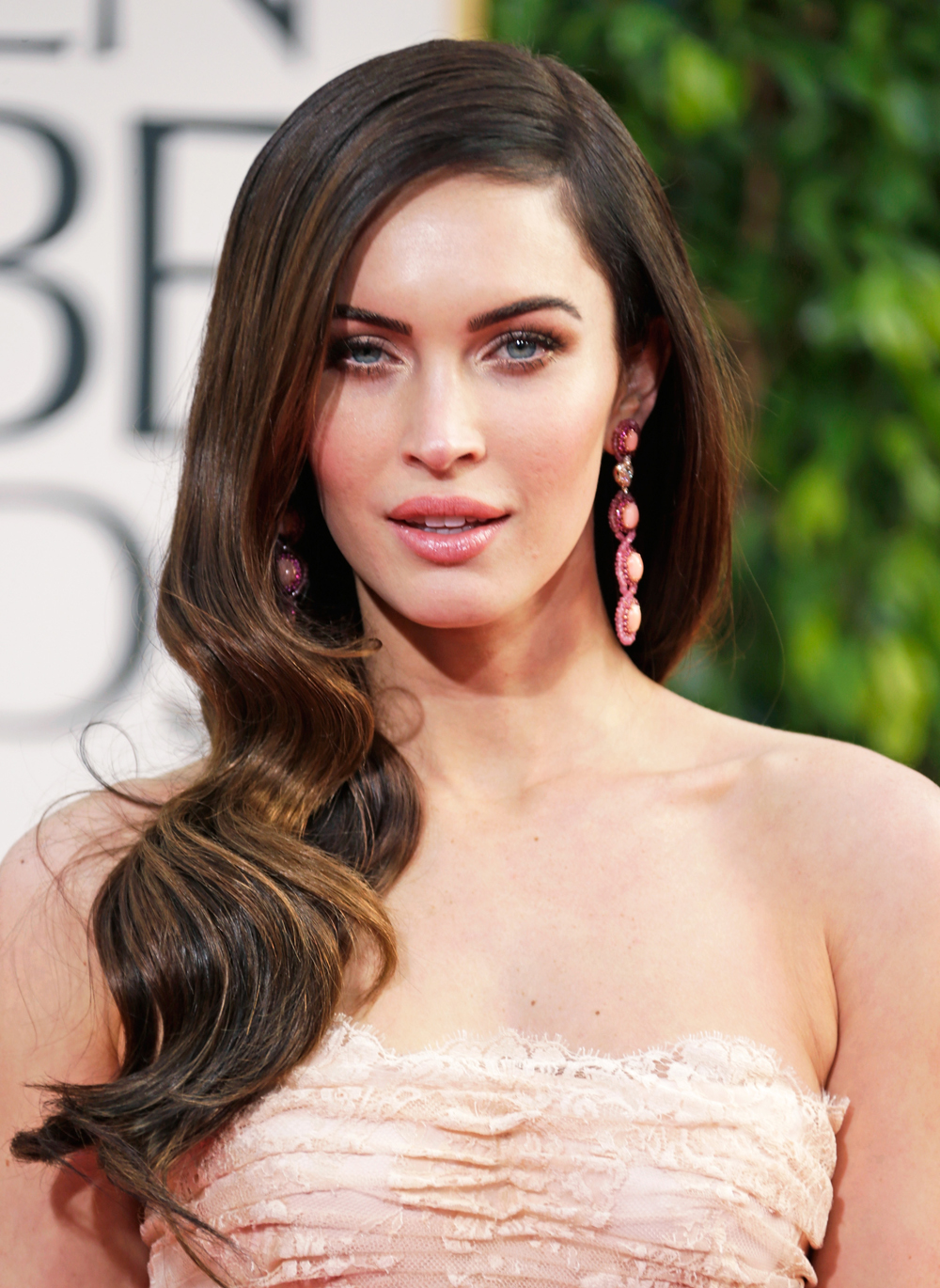 Jessica Chastain and Megan Fox's Hair at the 2013 Golden Globes
