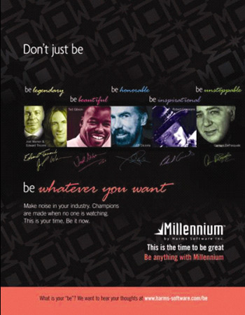 Millenum SpaSalon Software honors icons