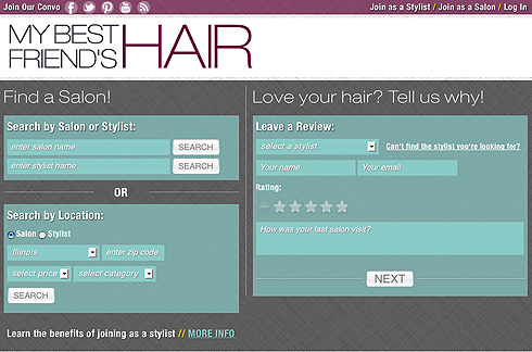 Find a Salon or Stylist