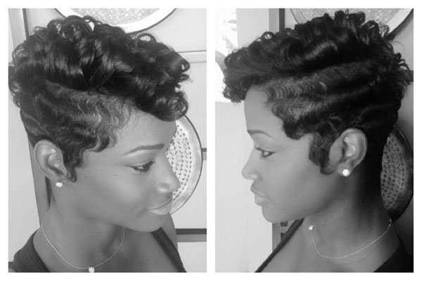 Inspired By The 1920s: Modern Finger Waves
