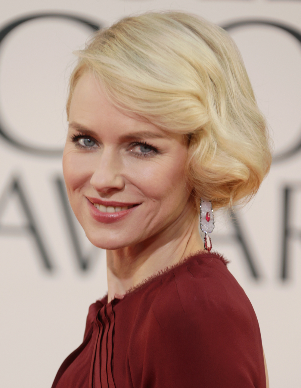Naomi Watts' Hair at the 2013 Golden Globes