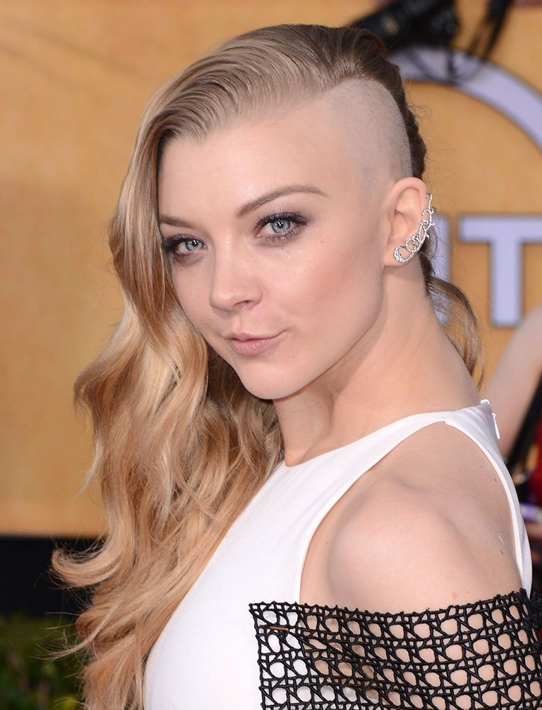 SAG AWARDS: Natalie Dormer Debuts Half-Shaved Head! Get the Look!