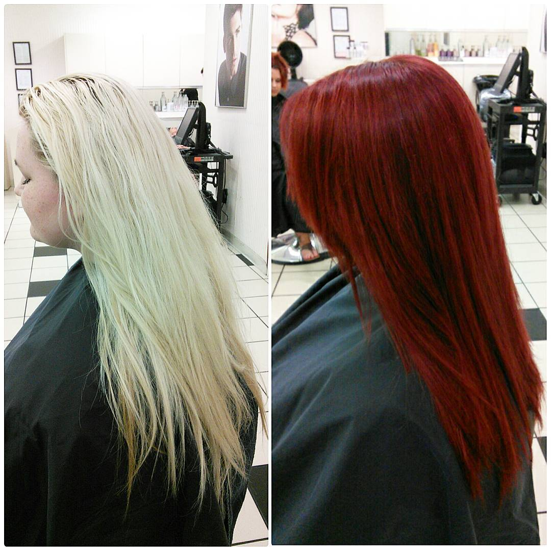 Transformation Going Back To Her Roots Career Modern Salon