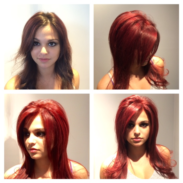 how to use rusk hair color
