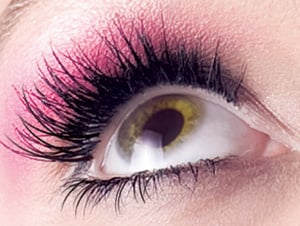For weddings, try eyelash extensions