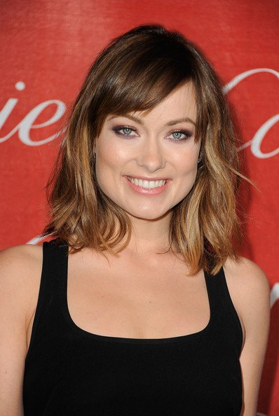 Olivia Wilde's New Textured Hair