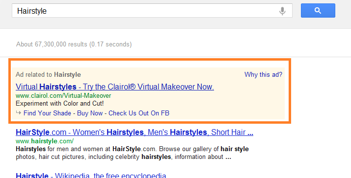 Where's My Salon When I Search in Google? Understanding  S.E.O.