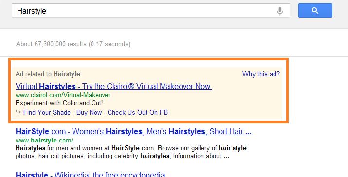 Where's My Salon When I Search in Google? Understanding  S.E.O.