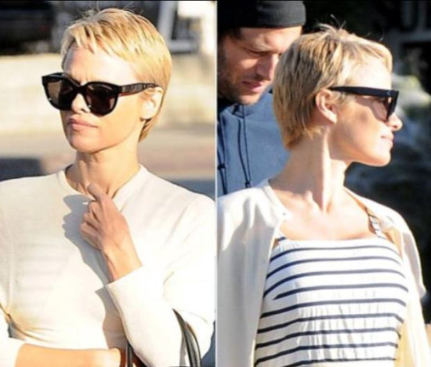 DID SHE OR DIDN'T SHE: Pamela Anderson's New Pixie Hair Cut