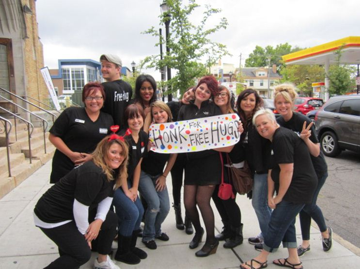 Paul Mitchell Schools Plan 5th Annual Nationwide Free Hugs Day