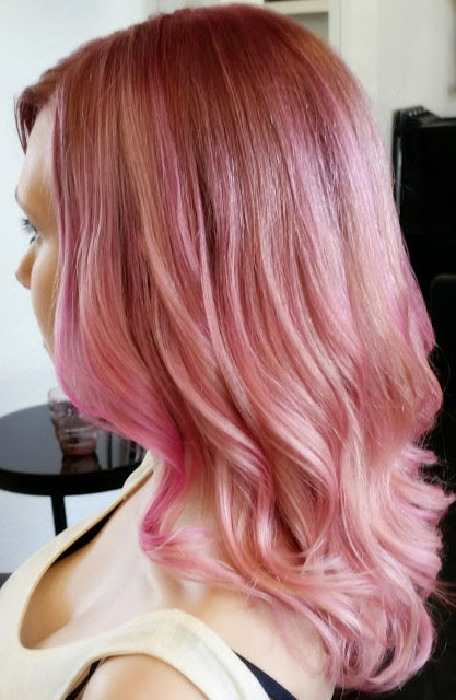 HOW-TO: Dirty Pink Pastel Hair Color Formula