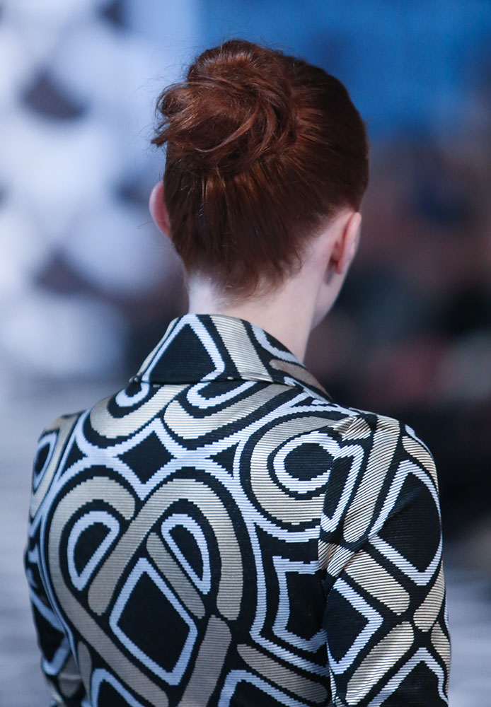 FASHION WEEK: Bohemian Ballerina Buns Using BioSilk at DVF