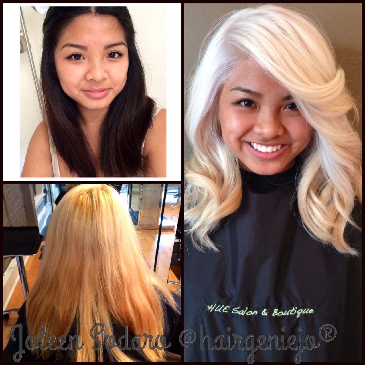 COLOR CORRECTION: Brassy Mess to Level 10 Platinum Princess!