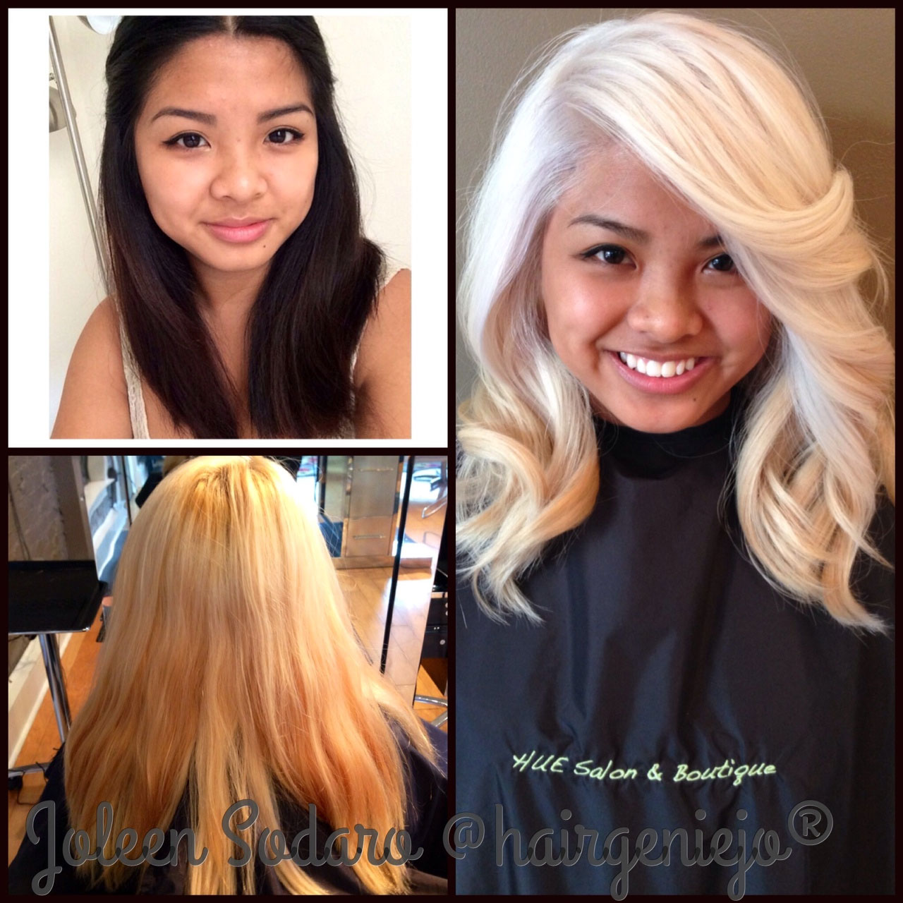 Remarkable Color Correction Brassy Mess To Level 10 Platinum Princess Short Hairstyles For Black Women Fulllsitofus