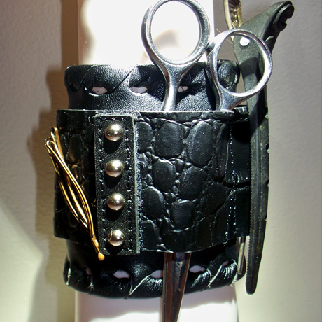 The Salon Armor Magnetic Wristband: Holds Clips, Pins, Brushes...