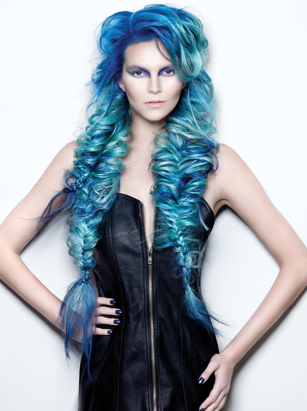 <p>Hair: Christopher Smith + Saretta Bowerman for R+Co and Great Lengths</p> <p>Photographer: Roberto Ligresti</p> <p>Makeup: David Maderich and Jacquelyn Jordan</p> <p>Nails: Galyna Poczciwinski</p>