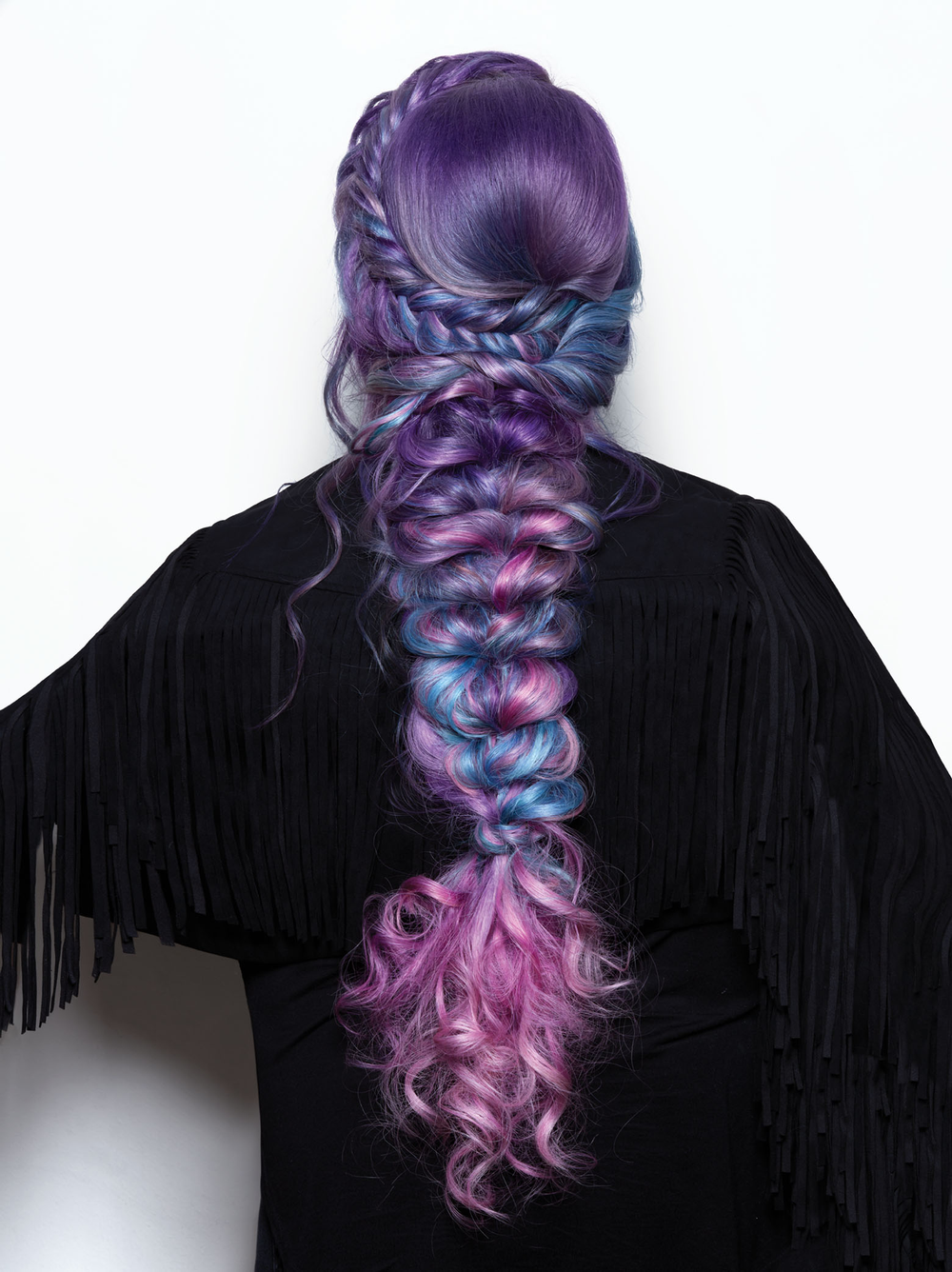<p>Hair: <strong>Nora Dababneh andAlexandra Wilson</strong> for R+Co and Great Lengths</p> <p>Photographer: Roberto Ligresti</p> <p>Makeup: David Maderich and Jacquelyn Jordan</p> <p>Nails: Galyna Poczciwinski</p>