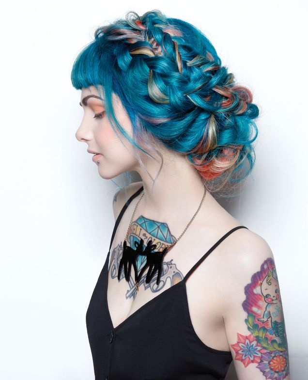 <p>Hair: Heidi Marie Garett Villa + Jennifer LoPiccolo for R+Co and Great Lengths</p> <p>Photographer: Roberto Ligresti</p> <p>Makeup: David Maderich and Jacquelyn Jordan</p> <p>Nails: Galyna Poczciwinski</p>