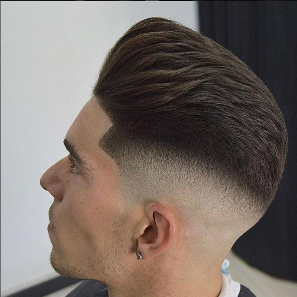 "From Spain's<a href=""https://www.instagram.com/rm_barber/"" target=""_blank"" rel=""noopener"">RM Barber.</a>"