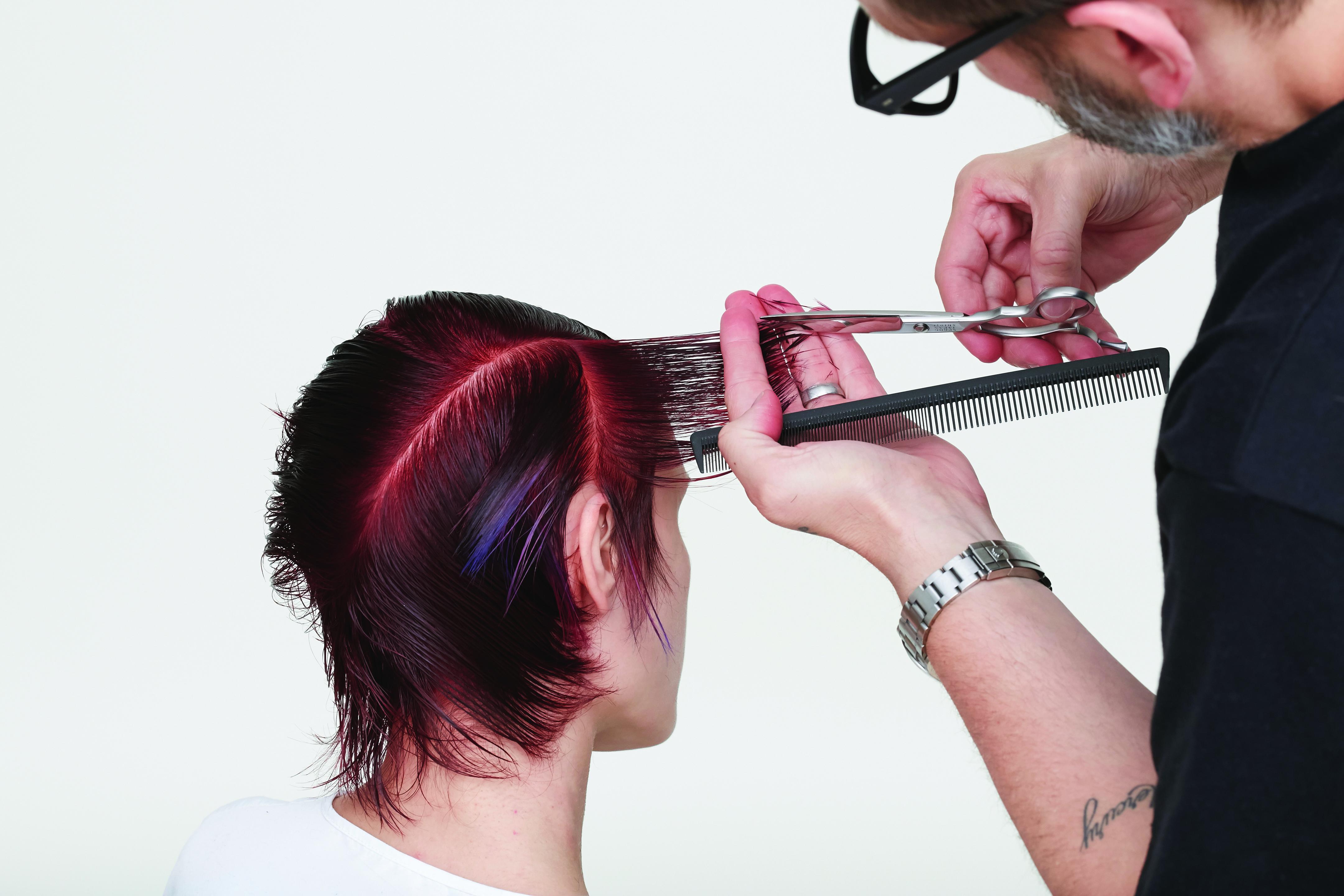Hair: Thomas Osborn and Richy Kandasamy for TIGI Roberto Ligresti