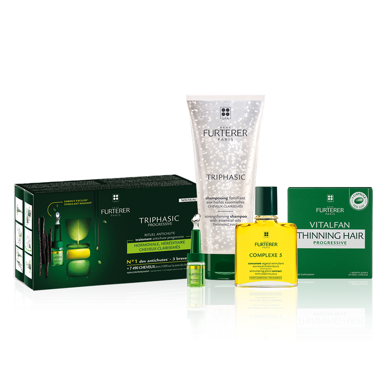<strong>Rene Furterer offers a range of drug-free hair thinning solutions</strong>