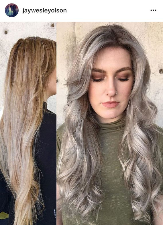 The Warm to Cool Blonde Hair Color Hacks Every Colorist ...