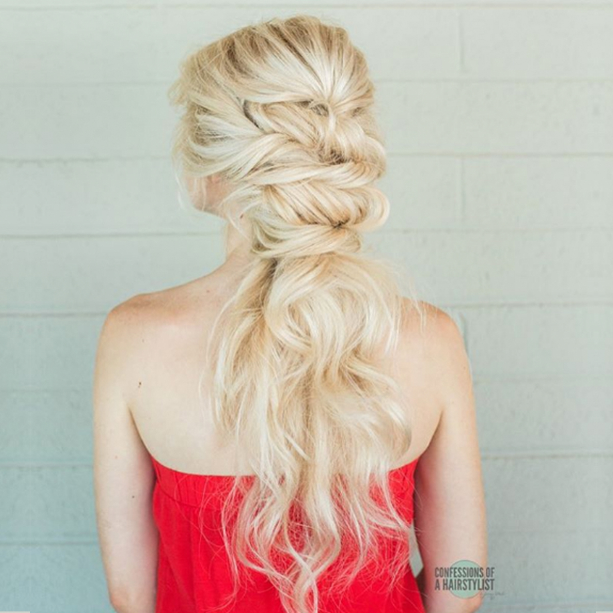 VIDEO HOW-TO: Whimsical Twisted Ponytail by @theconfessionsofahairstylist
