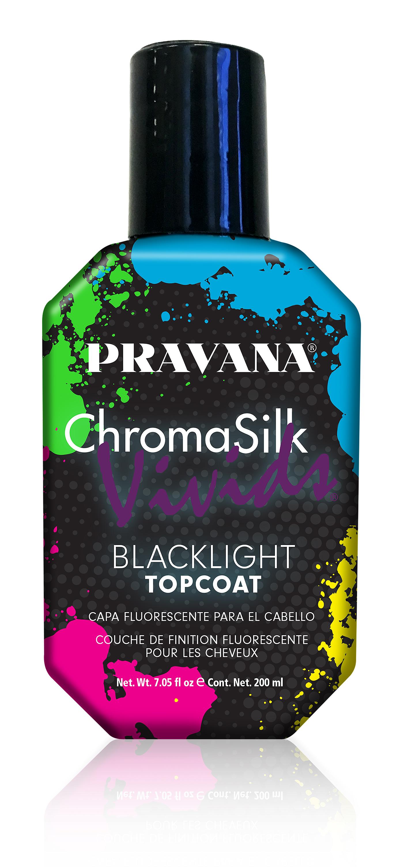 Pravana Introduces Limited Edition VIVIDS Blacklight Topcoat