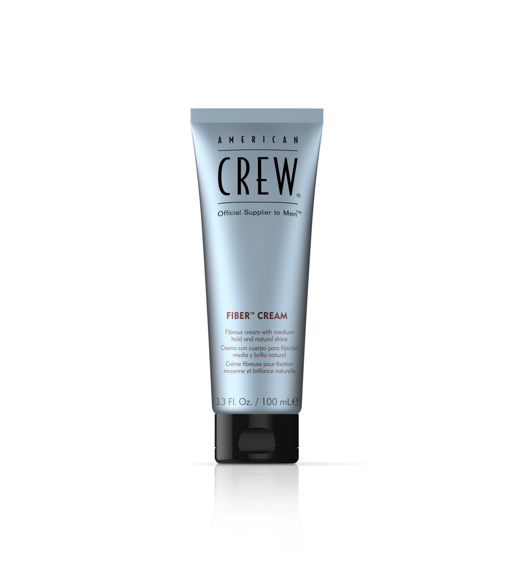 <p>Long hair gets texture and support with a natural finish from American Crew Fiber Crème.</p>