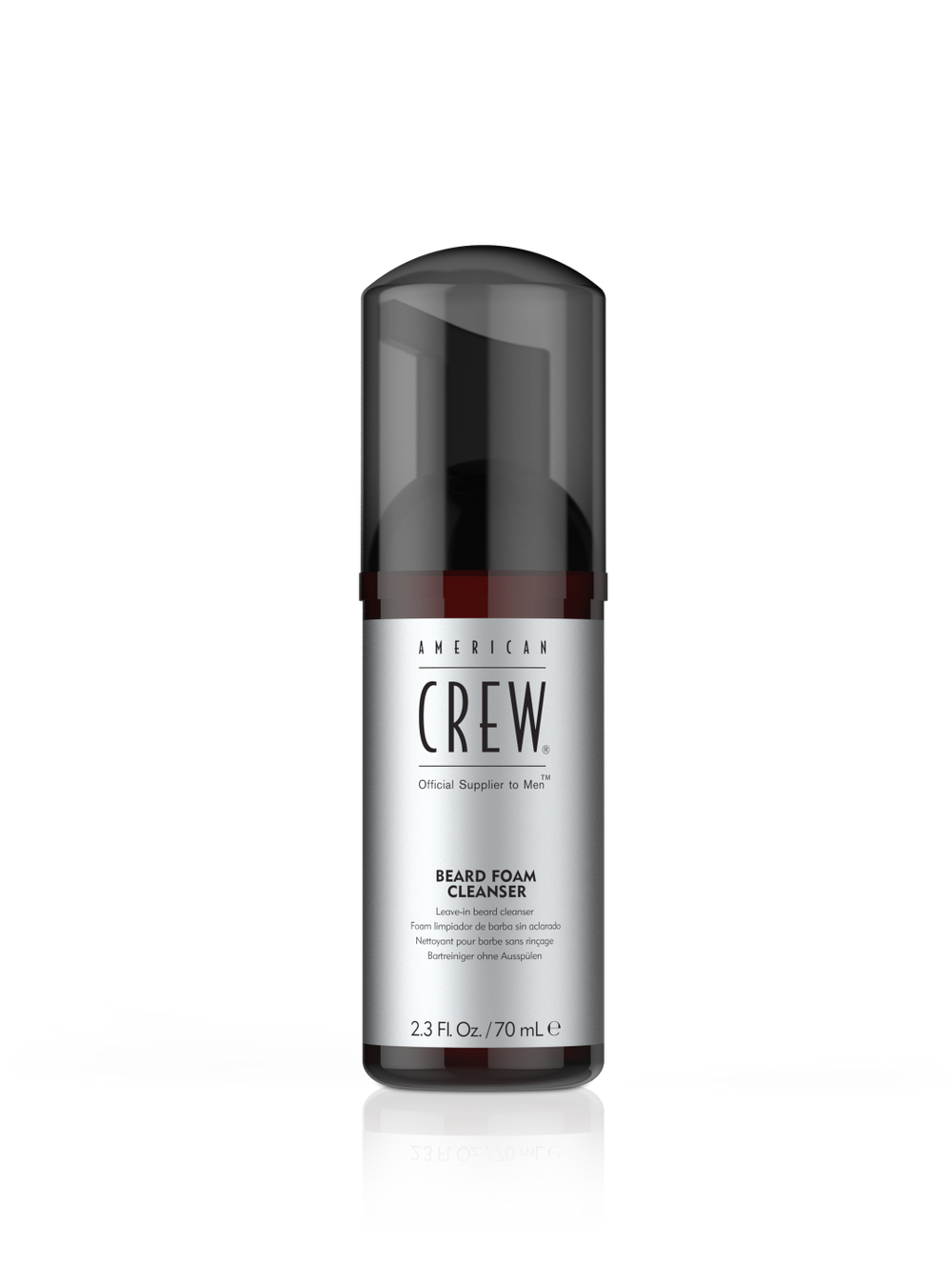 <p><strong>Cleanse: American Crew™ Beard Foam Cleanser</strong></p>