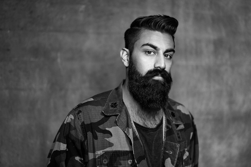 <p>Regular cleansing and combing are essential for a well-groomed beard.</p>
