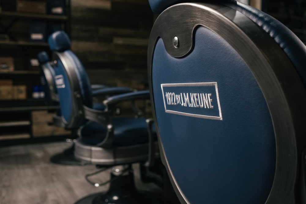Both Keune and Minerva were so pleased with the chairs inspired by the 1922 packaging, they will be offering them to other salons and barbershops carrying the line.