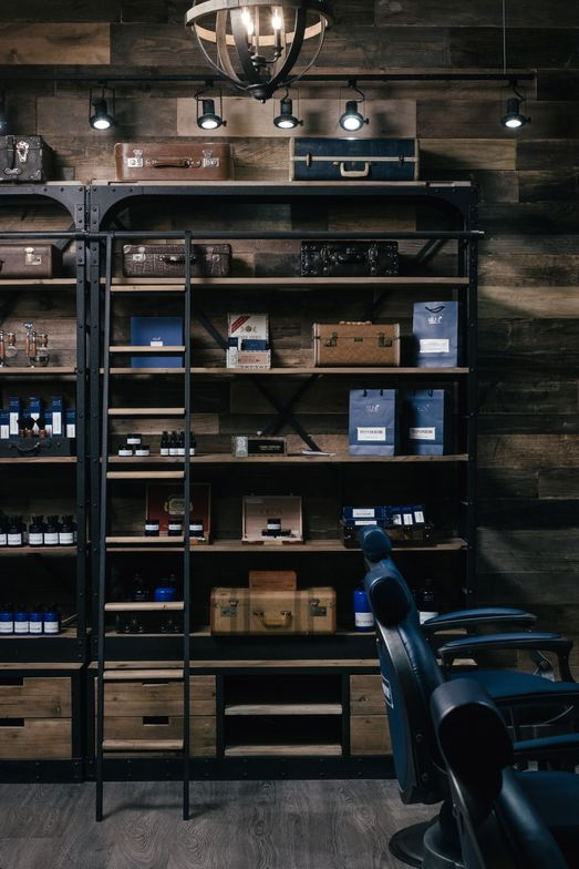 <p>The gorgeous retail shelves invite men, and the women who love them, to shop.</p>
