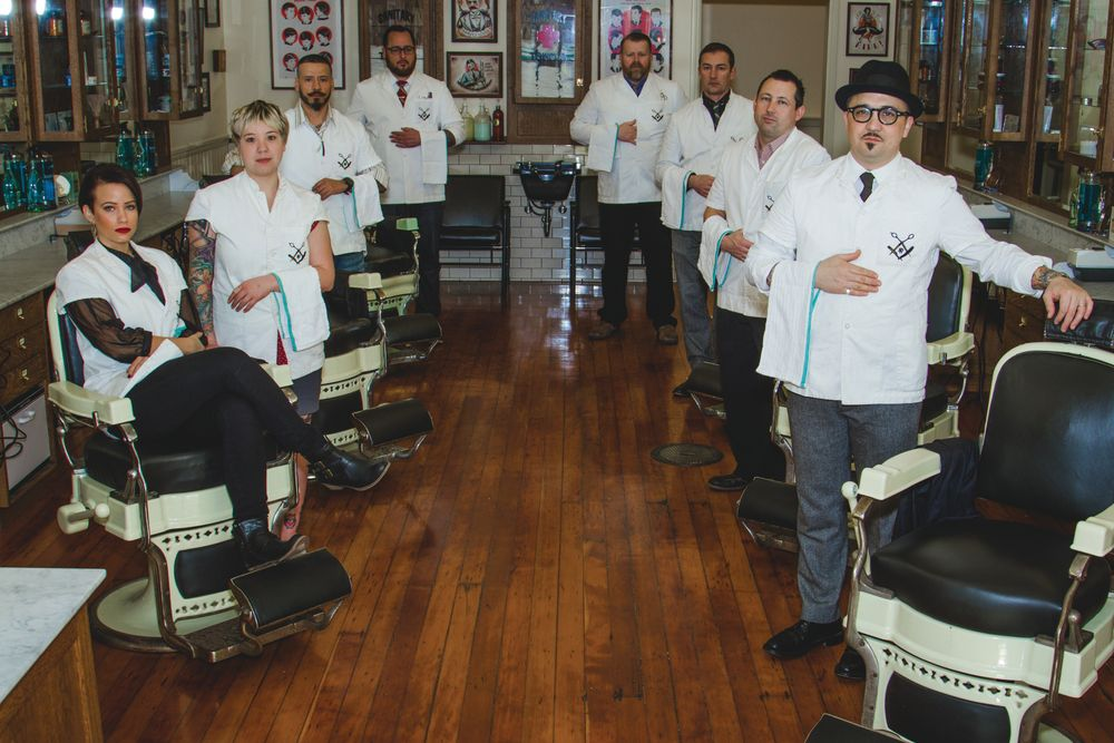 At J. P. Kempt in San Francisco, 80 percent of appointments are booked online, when the barber is closed.