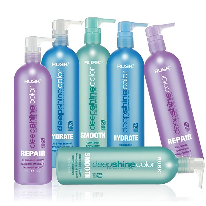 2012: Introduction of Deepshine Color Hair Care: Hydrate, Repair, Smooth. Rusk also introduces its new three-piece Deep-shine Smooth Keratin Smoothing System.