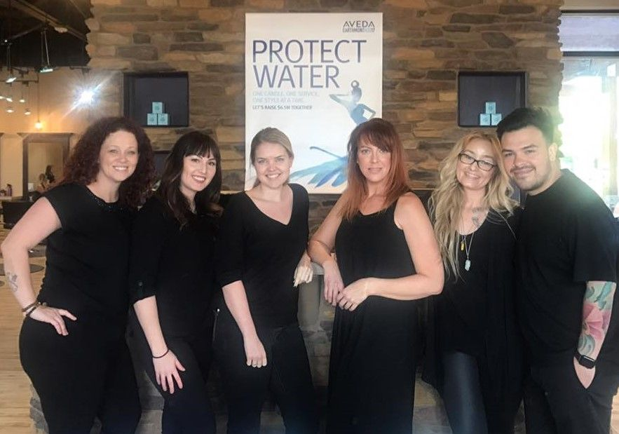 The team from 20 Volume Salon & Spa in Gilbert, AZ.