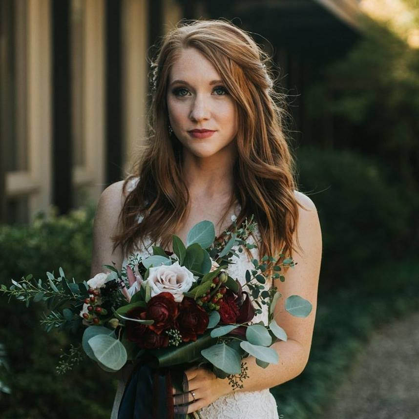 Maybe even more so than the dress itself (we're biased), a long-lasting beauty look is key for a bride looking and feeling her best on her big day. Bulger Creative Co.