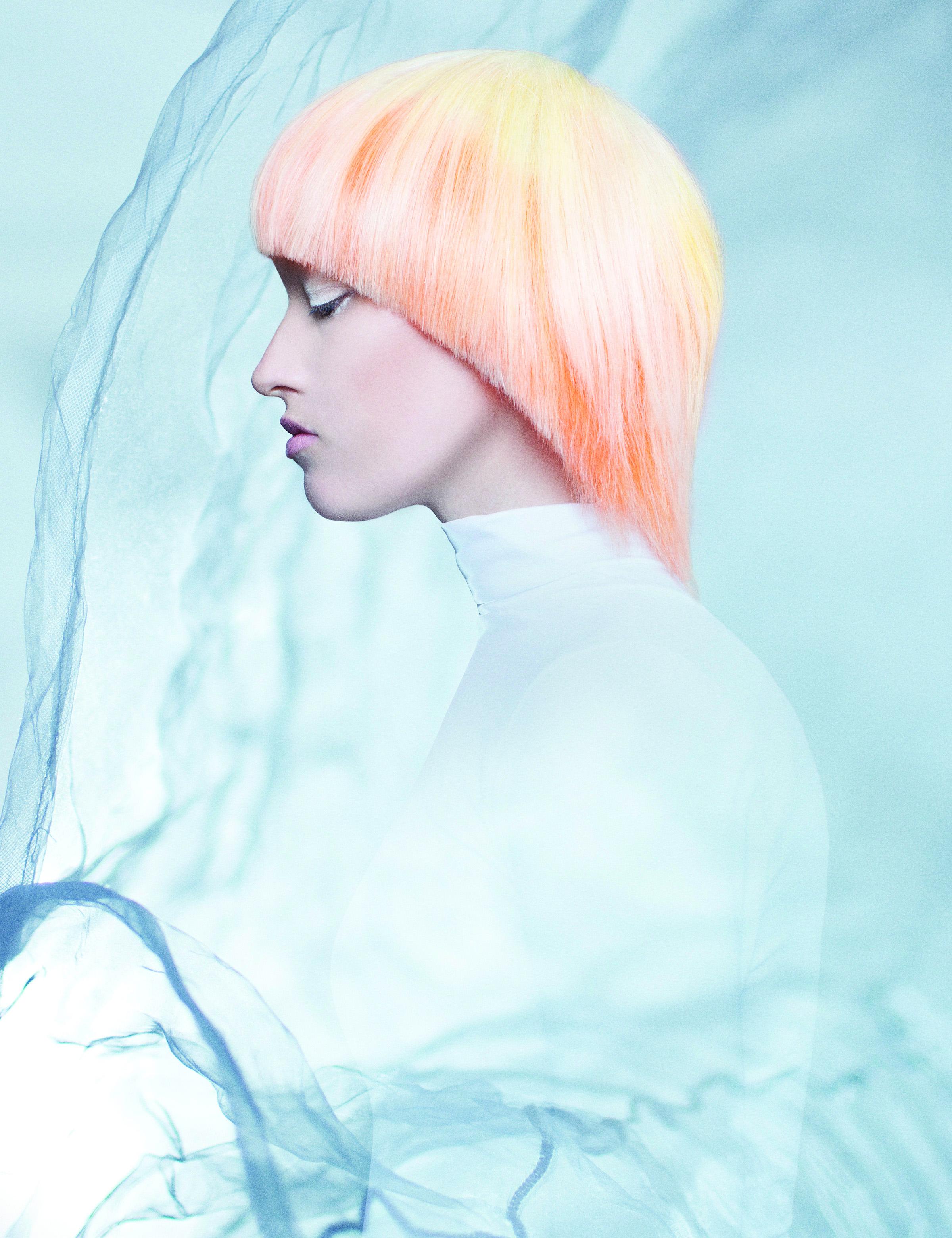 Starburst Orange: Pastel Hair Color Formula from Lakme USA