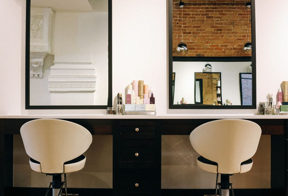 The salon's skin lab was created to enhance productivity and maximize convenience for guests.