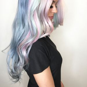 Sea Foam: Rainbow Pastel Formula from Pravana