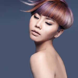 Candy Bowl: Purple and Orange Color Scheme by Aveda
