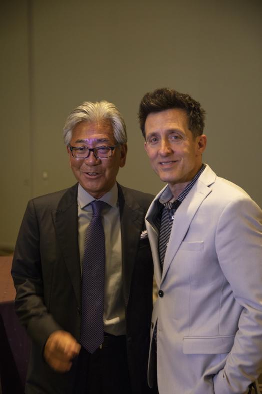 <p>Hidetaka Yoshikawa and Larry Silvestri</p>