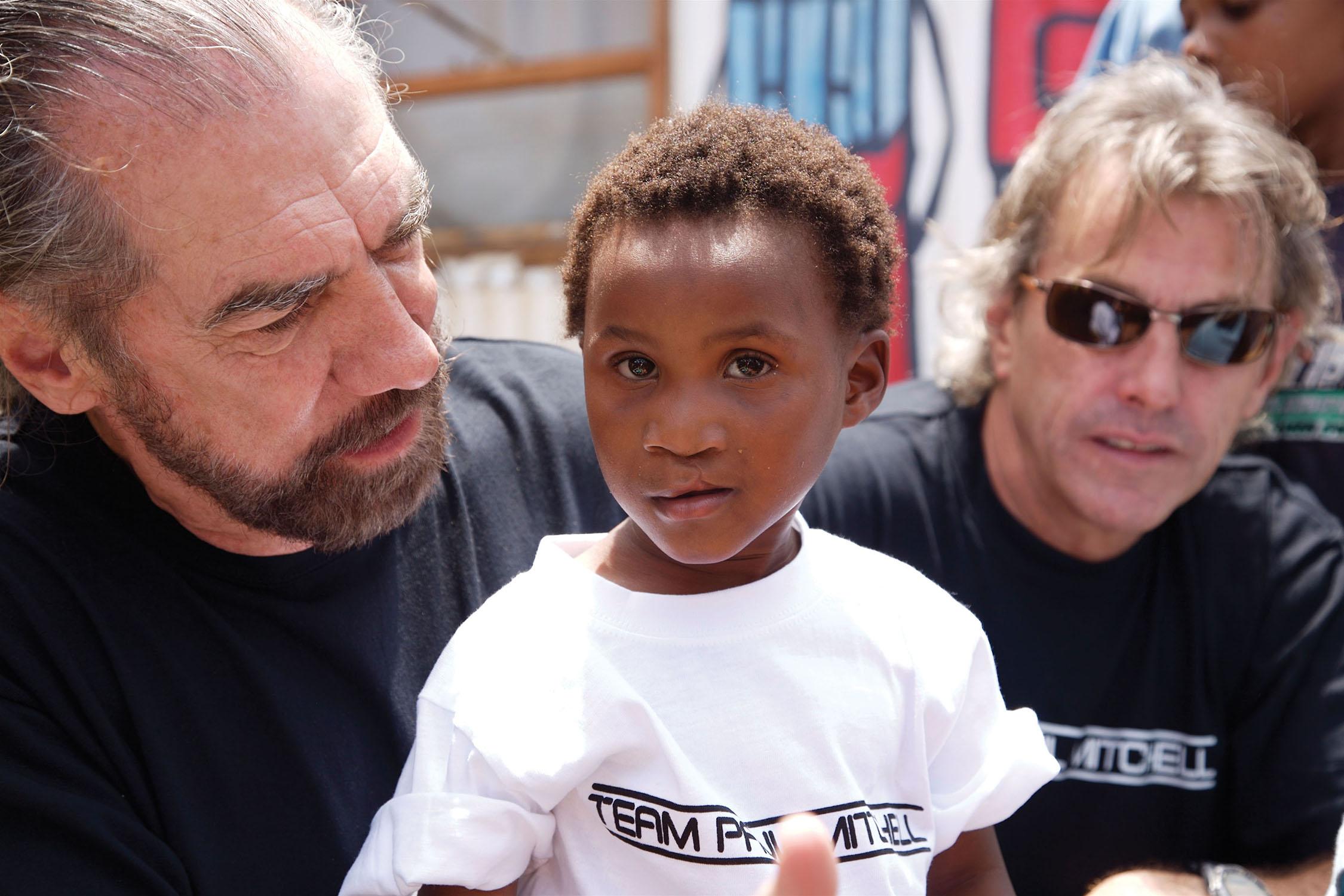 John Paul DeJoria of Paul Mitchell Supports Food4Africa