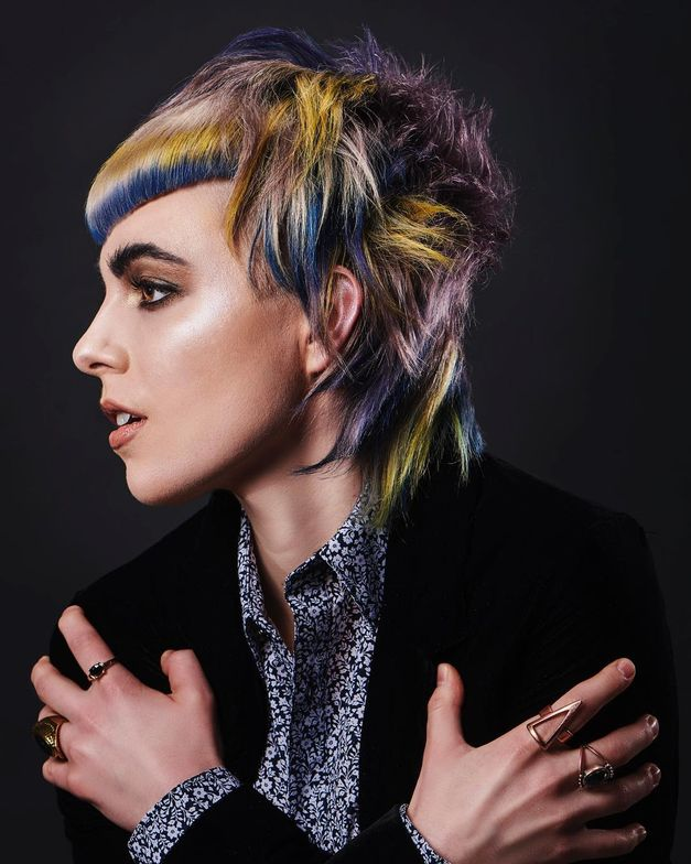 #CREATIVEVISION: Lauren Baril<br /> <p>@lamb.hair Rose and Onyx Hair Company Ltd., St. Albert, AB</p>